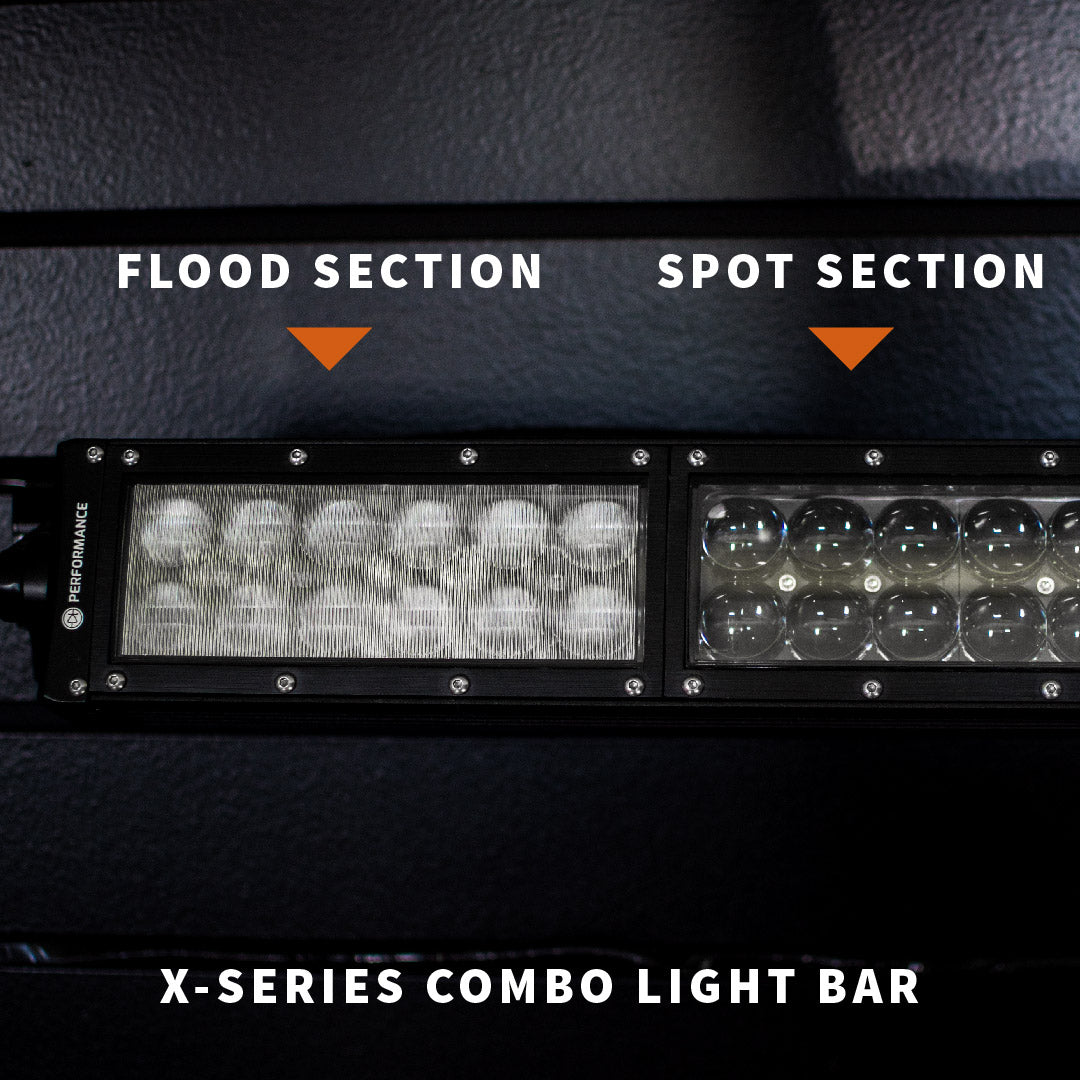 X-Series Light Bar Flood and Spot