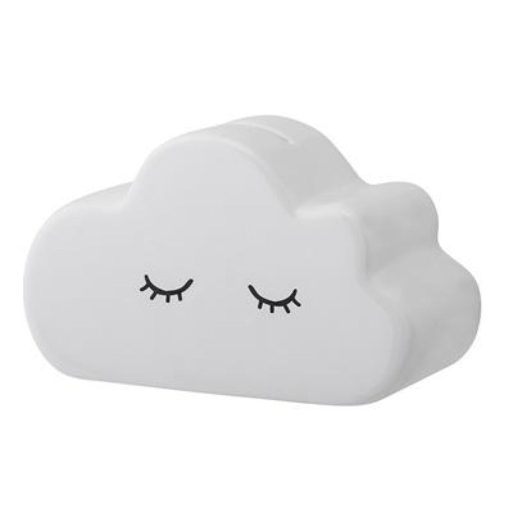 Ceramic Cloud Money Box