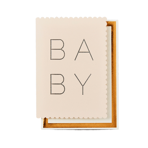 Card - Luxe Baby Pink