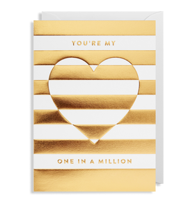 You're My One In A Million Card