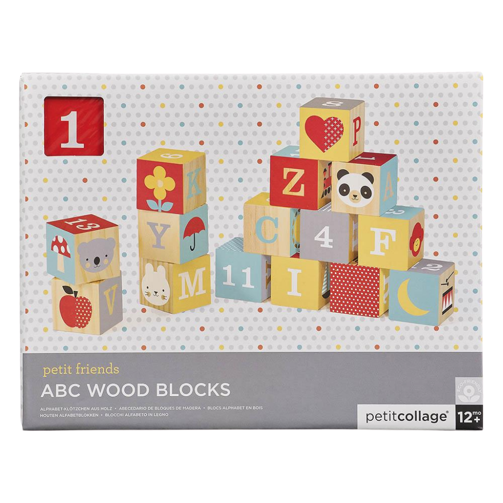 ABC Wooden Block Set