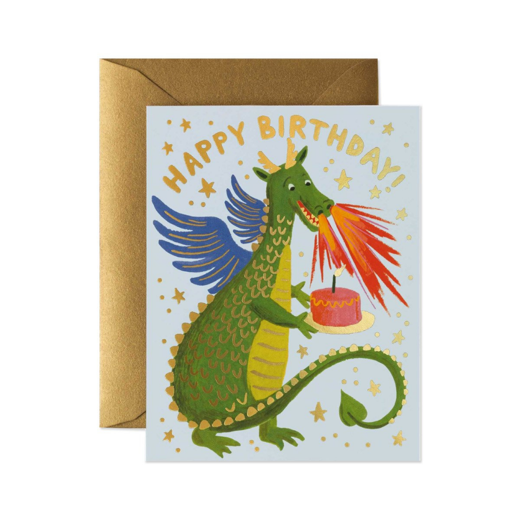 Card - Birthday Dragon