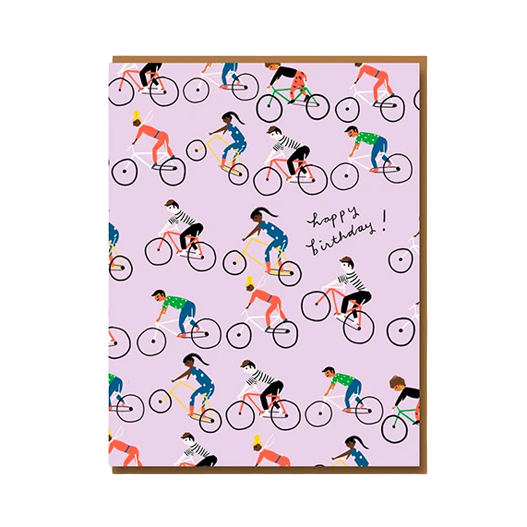 Card - Birthday Bicycles
