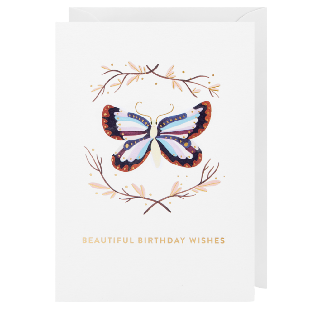 Card - Beautiful Birthday Wishes
