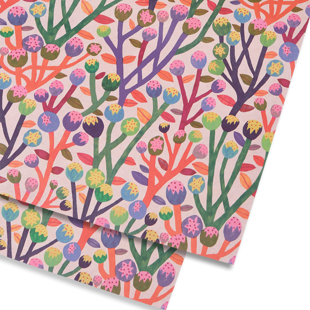 Wrapping Paper - Wildflowers