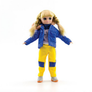 Snow Day Lottie Doll