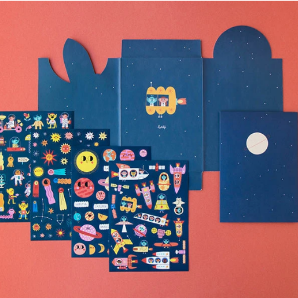 Stickers Space Activity