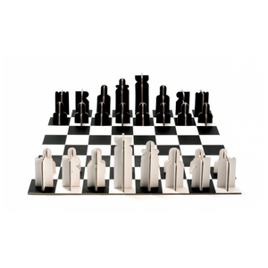 Cardboard Chess Set