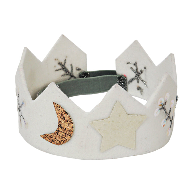 Felt Winter Crown