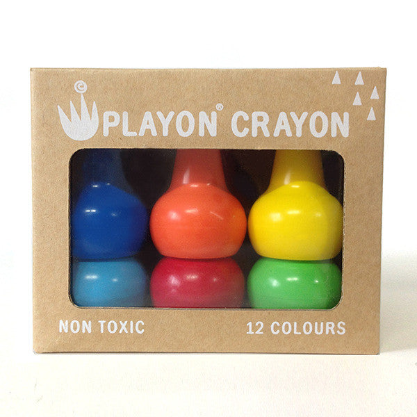 Playon Crayons - Primary Colours