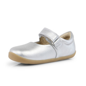 Dance Silver Mary Janes