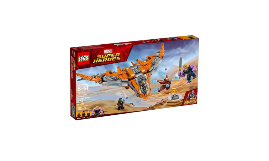 Super Heroes Lego Set