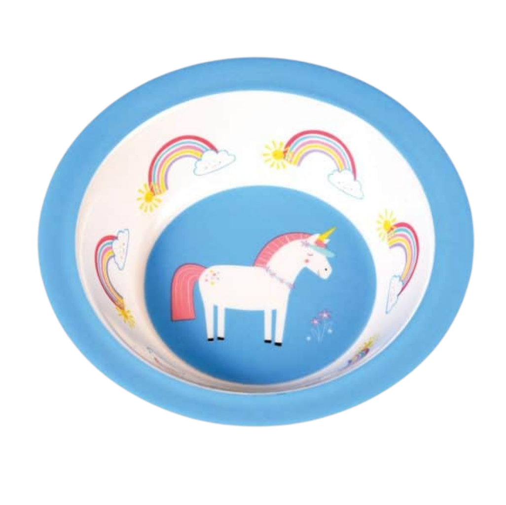 Unicorn Melamine Bowl