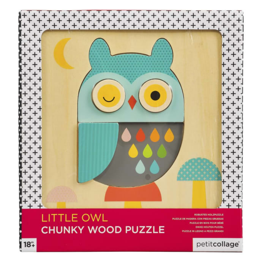 Owl Chunky Wood Puzzle