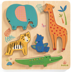 Woody Jungle Wooden Puzzle