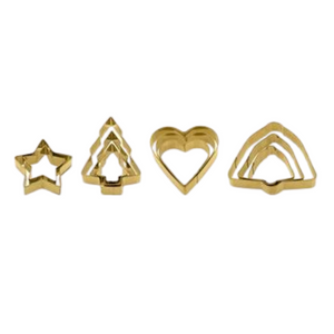 Gold Cookie Cutters