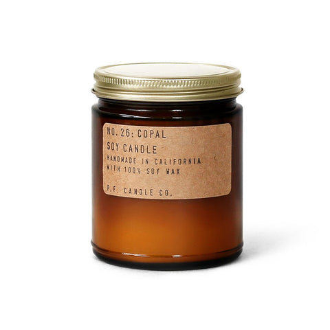 Soy Candle - No. 26 Copal