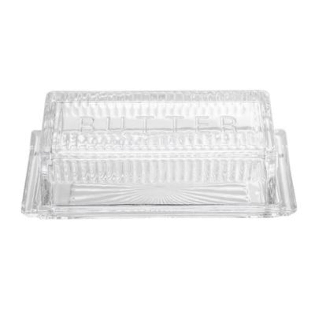 Classic Glass Butter Dish