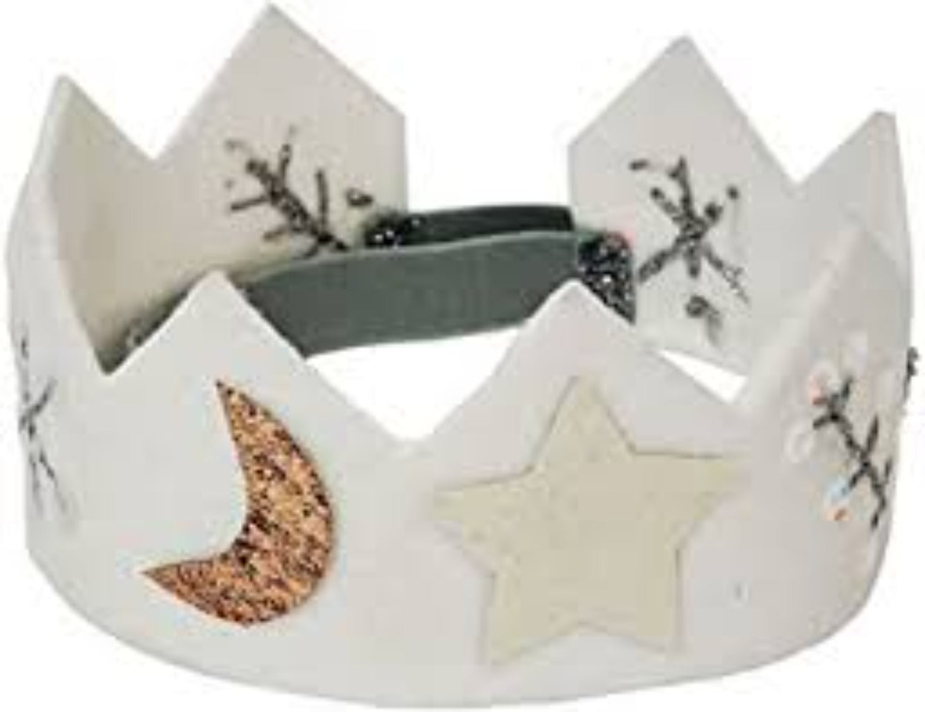 Stars & Moon Felt Party Crown