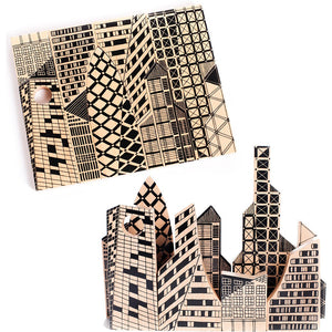Wooden City Architecture Puzzle