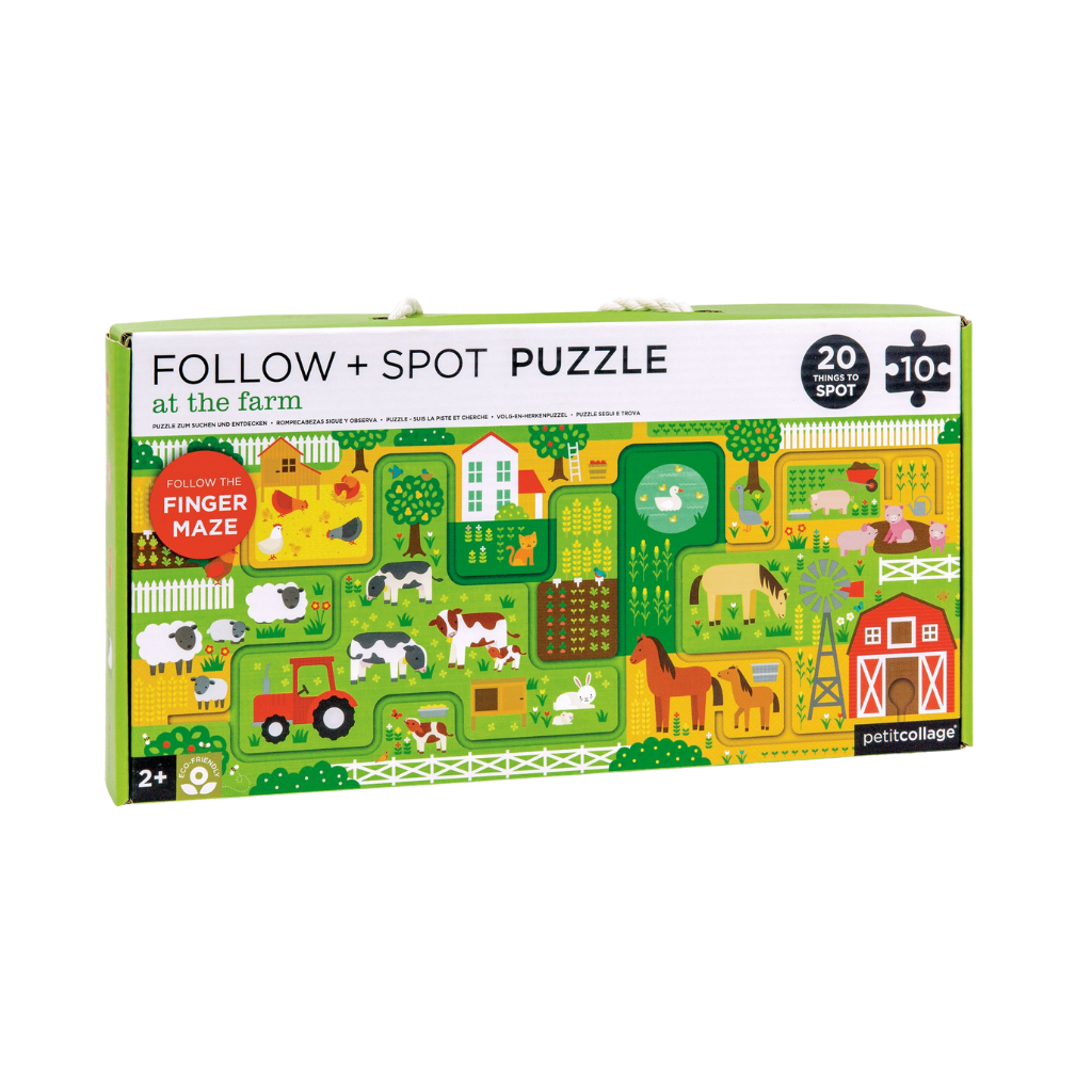At The Farm Follow + Spot Puzzle