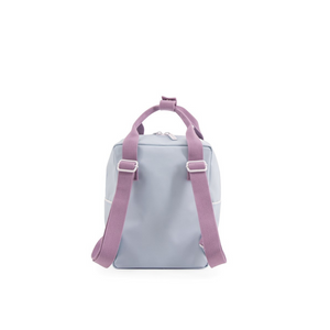 Wanderer Small Backpack - Sky blue /Pirate purple /Caramel fudge