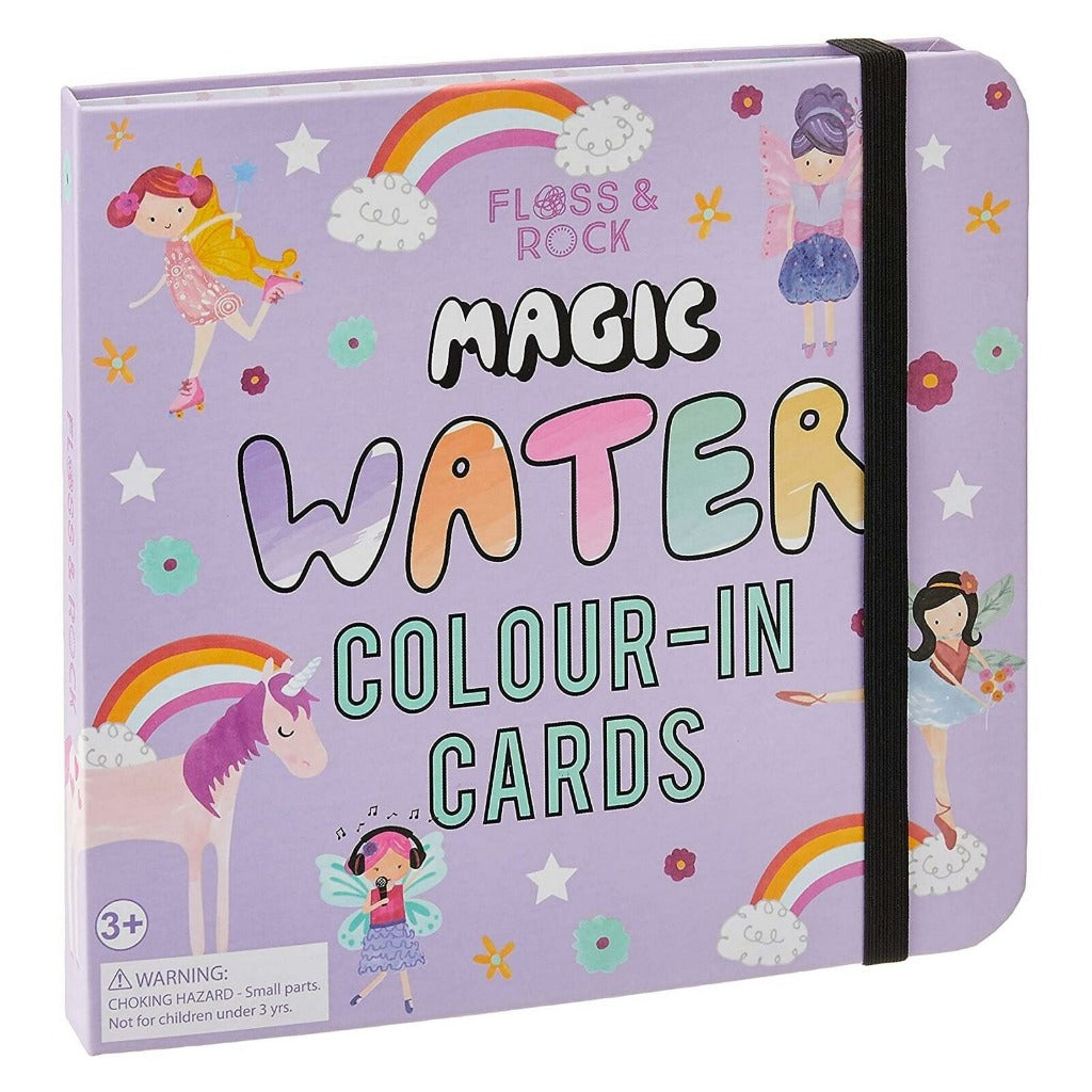 Magic Water Colour-In Fairy Cards