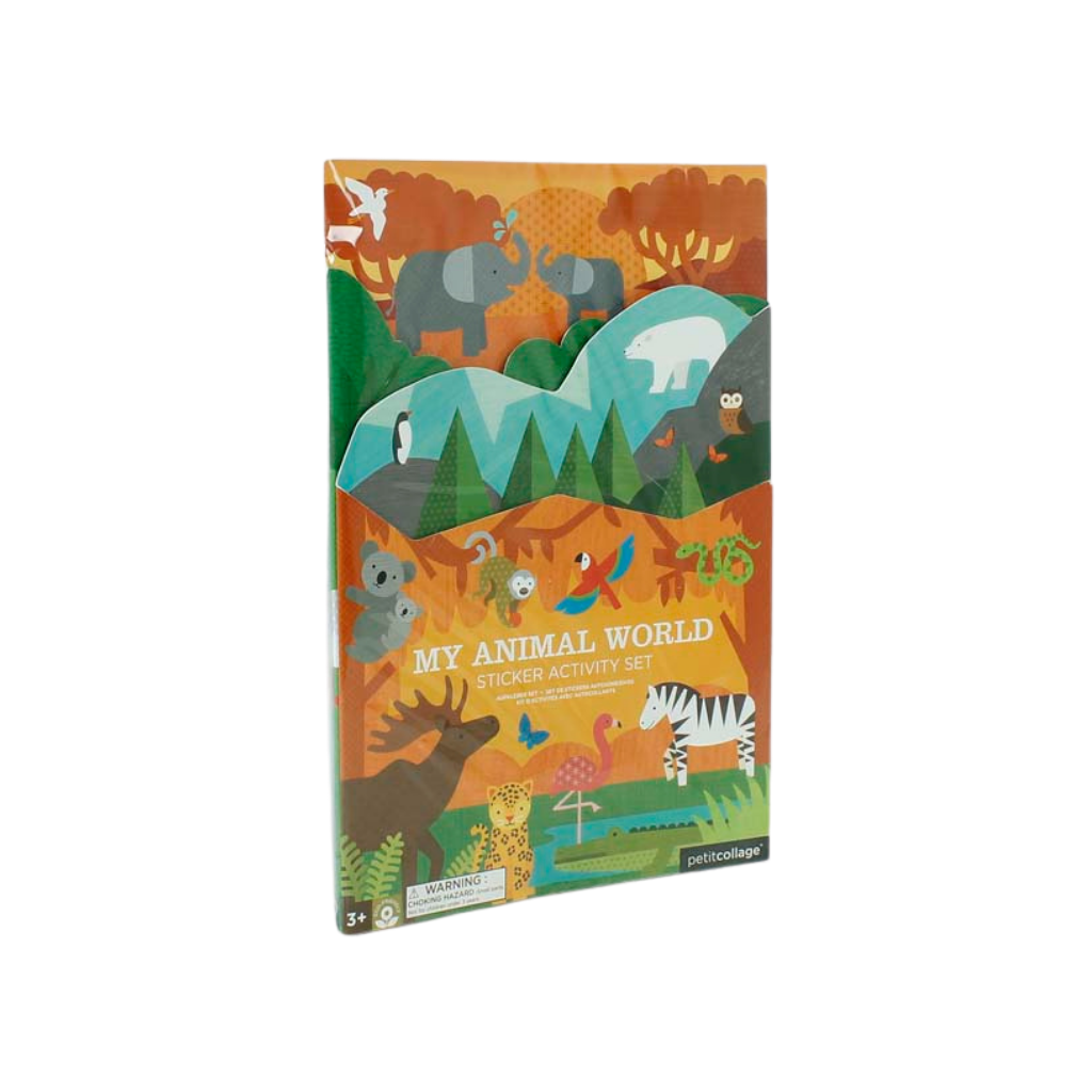 Animal World Activity Sticker Set
