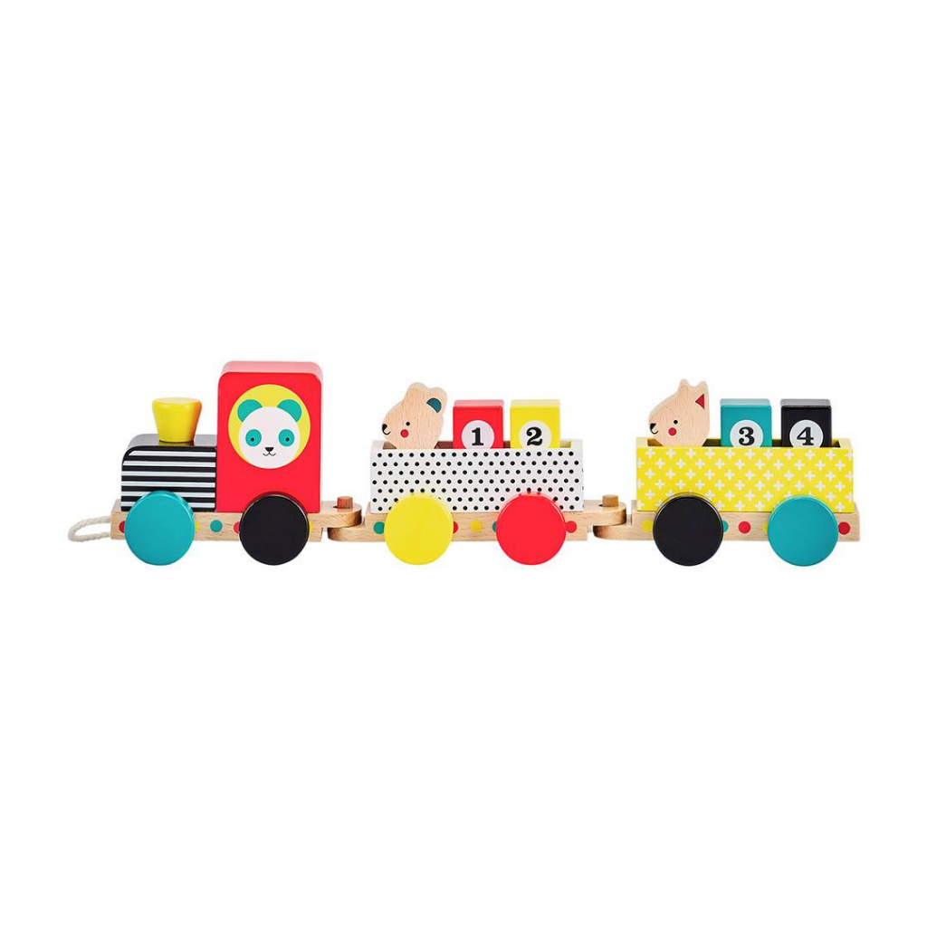 Wooden Pull Along Train Toy
