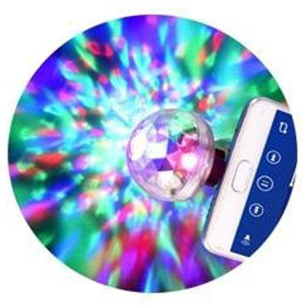 LED Mini Magical Disco Ball with Sound Control - Instant Party Atmosphere- Concert Light - Get Groovy Deals Texas