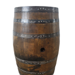 Load image into Gallery viewer, Rustic Whiskey Barrel - Game Room Table, Game Room Bar, Whiskey Barrel, Barrel Table, Wine Barrel, Pub Table, Gameroom Table, Gameroom Bar, Bar Table, Patio Table, Barrel Table - Get Groovy Deals Texas
