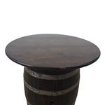Load image into Gallery viewer, Rustic Whiskey Barrel Table - Man Cave Table, Man Cave Bar, Whiskey Barrel, Wine Barrel, Pub Table, Mancave Table, Mancave Bar, Bar Table, Patio Table, Barrel Table - Get Groovy Deals Texas