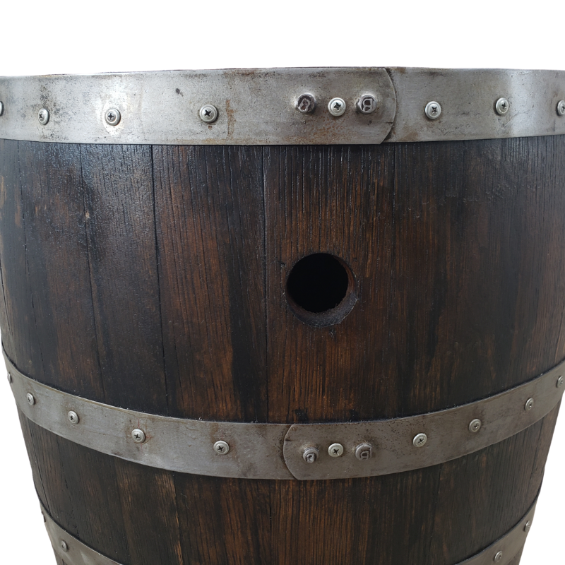 Rustic Whiskey Barrel Table - Man Cave Table, Man Cave Bar, Whiskey Barrel, Wine Barrel, Pub Table, Mancave Table, Mancave Bar, Bar Table, Patio Table, Barrel Table - Get Groovy Deals Texas