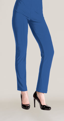 Signature Straight Leg Pant - Dazzling Blue - Final Sale! - Clara Sunwoo