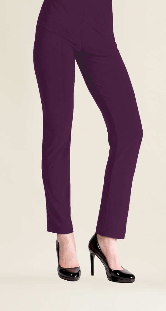 Copy of Straight Leg Pant - Eggplant - Limited Sizes