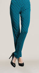 Checker Print Straight Leg Pant - Final Sale! - Clara Sunwoo