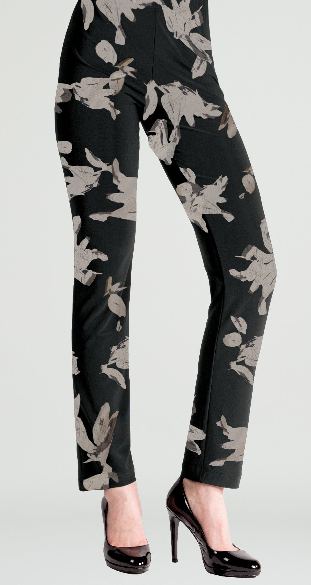 Soft Leaf Straight Pant