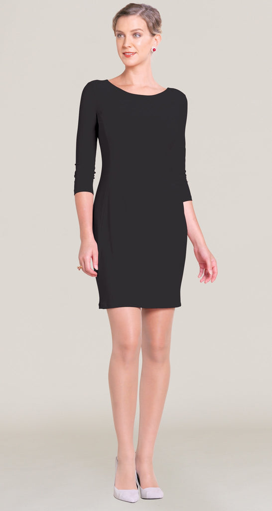 Classic Scoop Dress - Black - Final Sale!