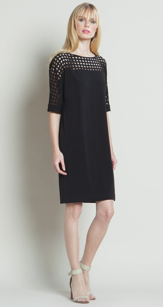 Perforated Ultra Chic Dress