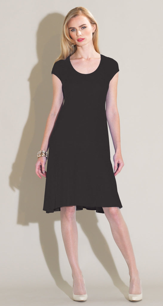 Flounce Dress - Black - Final Sale!