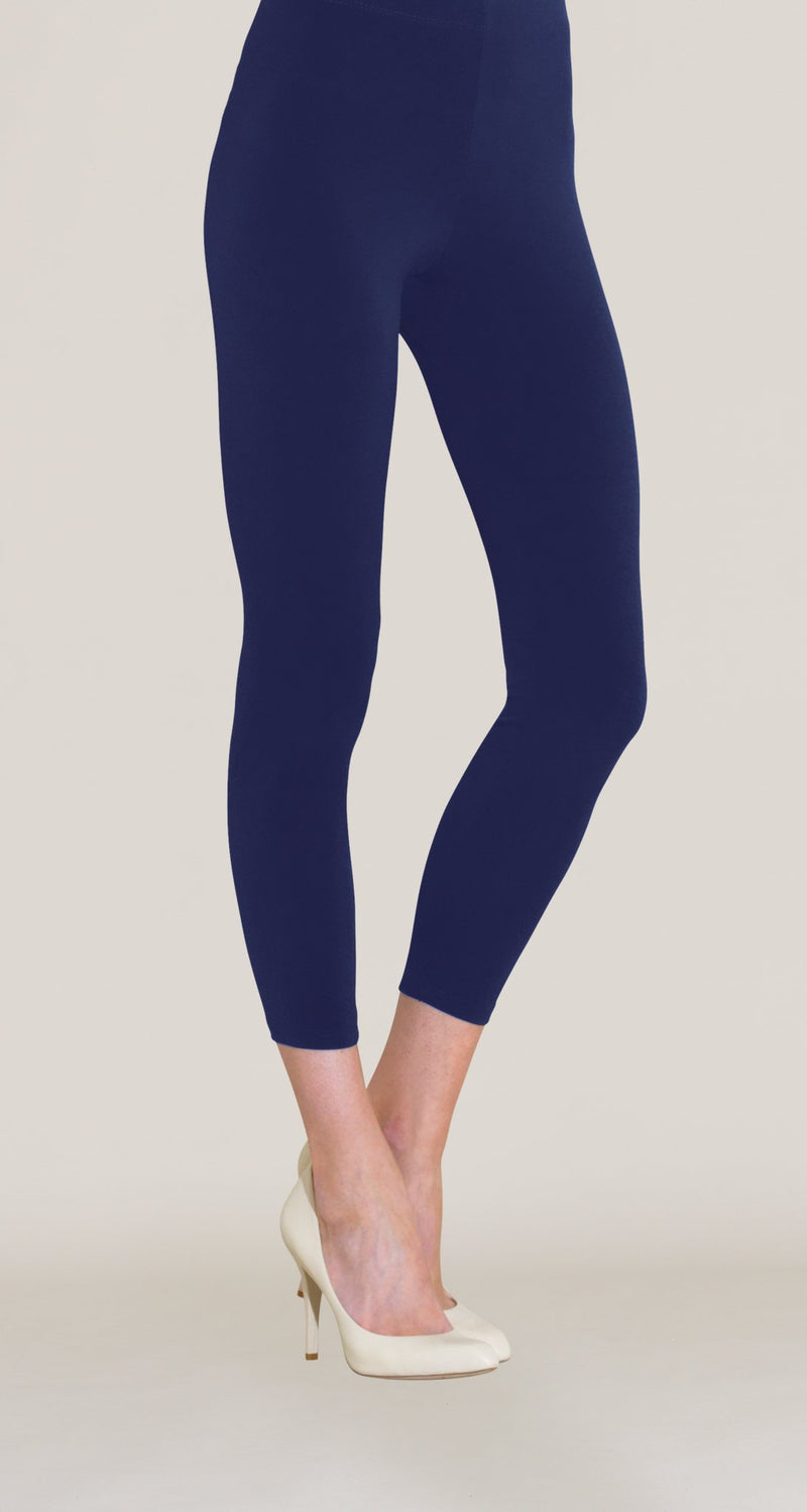 Cropped Slim Legging - Navy - Limited Sizes! - Clara Sunwoo