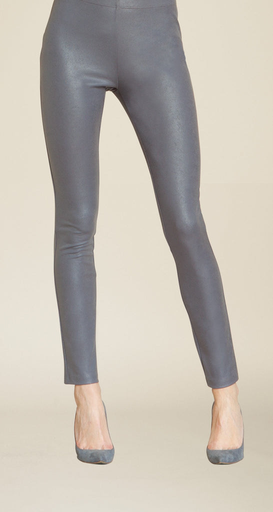 Liquid Leather Legging - Charcoal