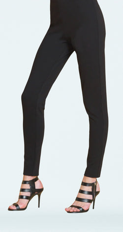 Ponte Slim Legging - Black