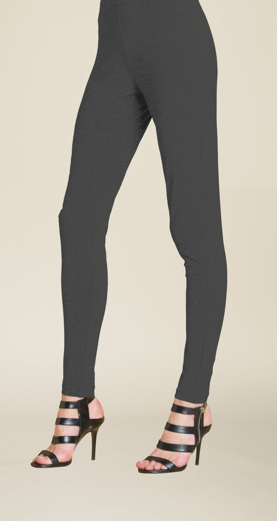 Ponte Pull-On Skinny Pant - Grey - Final Sale!