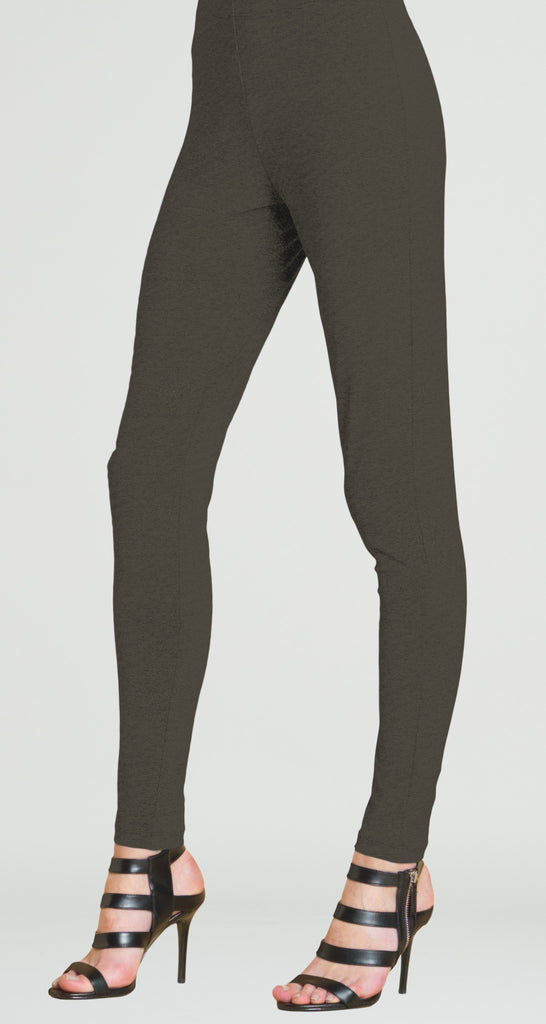 Ponte Pull On Slim Pant - Taupe - Final Sale!