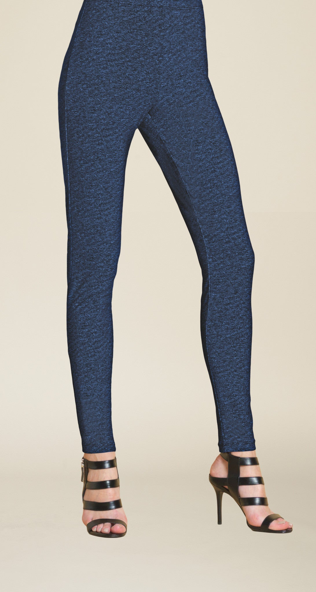 Denim Print Legging - Blue Denim - Final Sale!