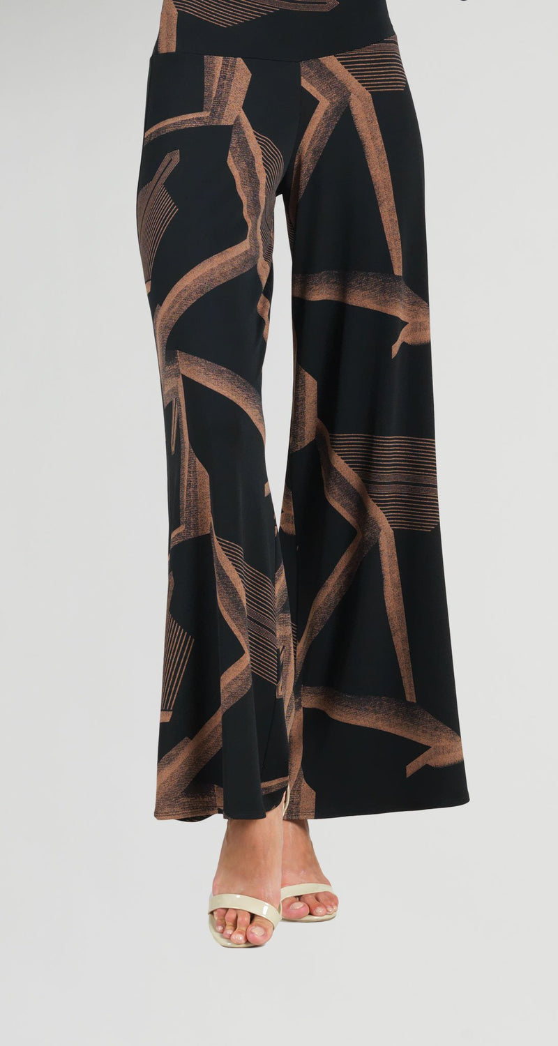 Geo Print Palazzo Pant - Limited Sizes!
