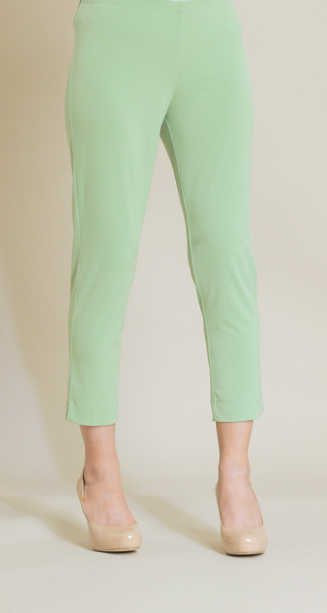 Pull On Capri - Mint Green - Final Sale! - Clara Sunwoo