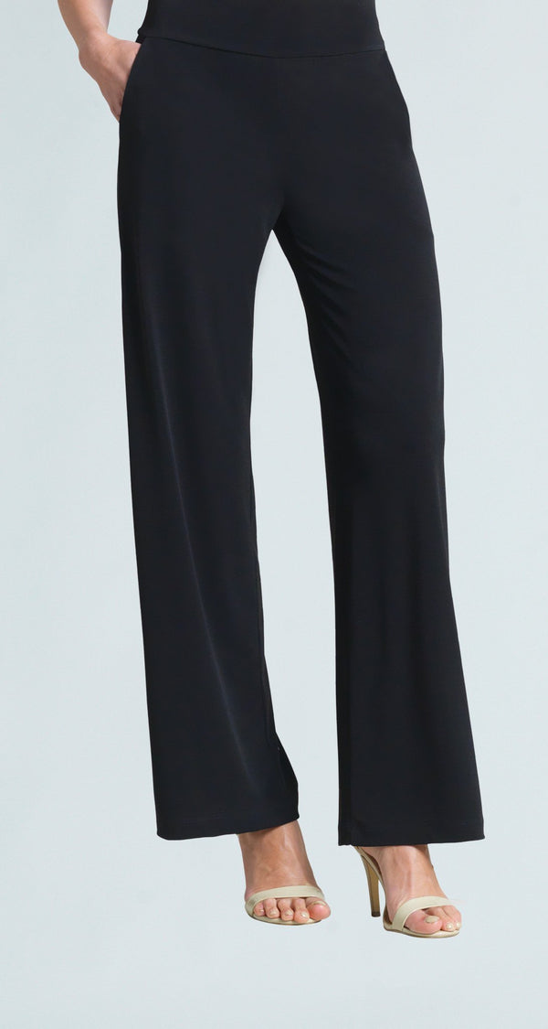 Wide Leg Pocket Pant - Black