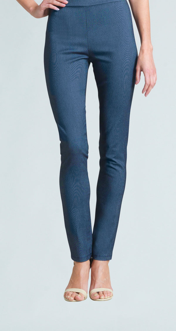 Techno Stretch Straight Leg Pant - Blue Denim